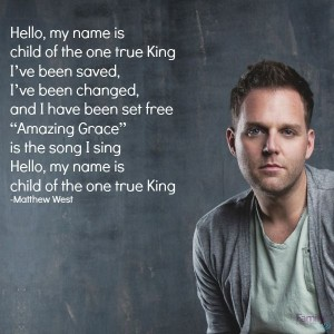 matthew west- hello my name is