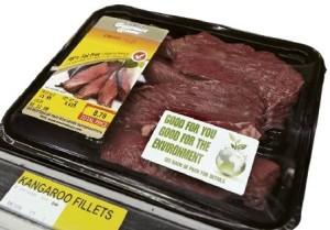 kangaroo meat