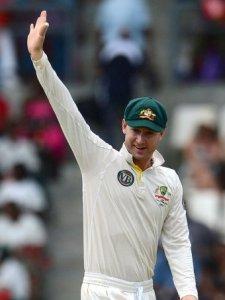 michael clarke 3 wickets