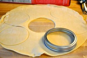 pie making circles